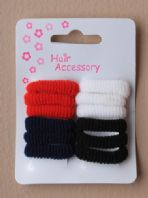 12 mini ponio bobbles, school colours (Code 0030)